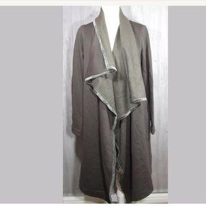 UGG Sweaters - UGG Janni Fleece Blanket Cardigan Army Green 79e80ada7